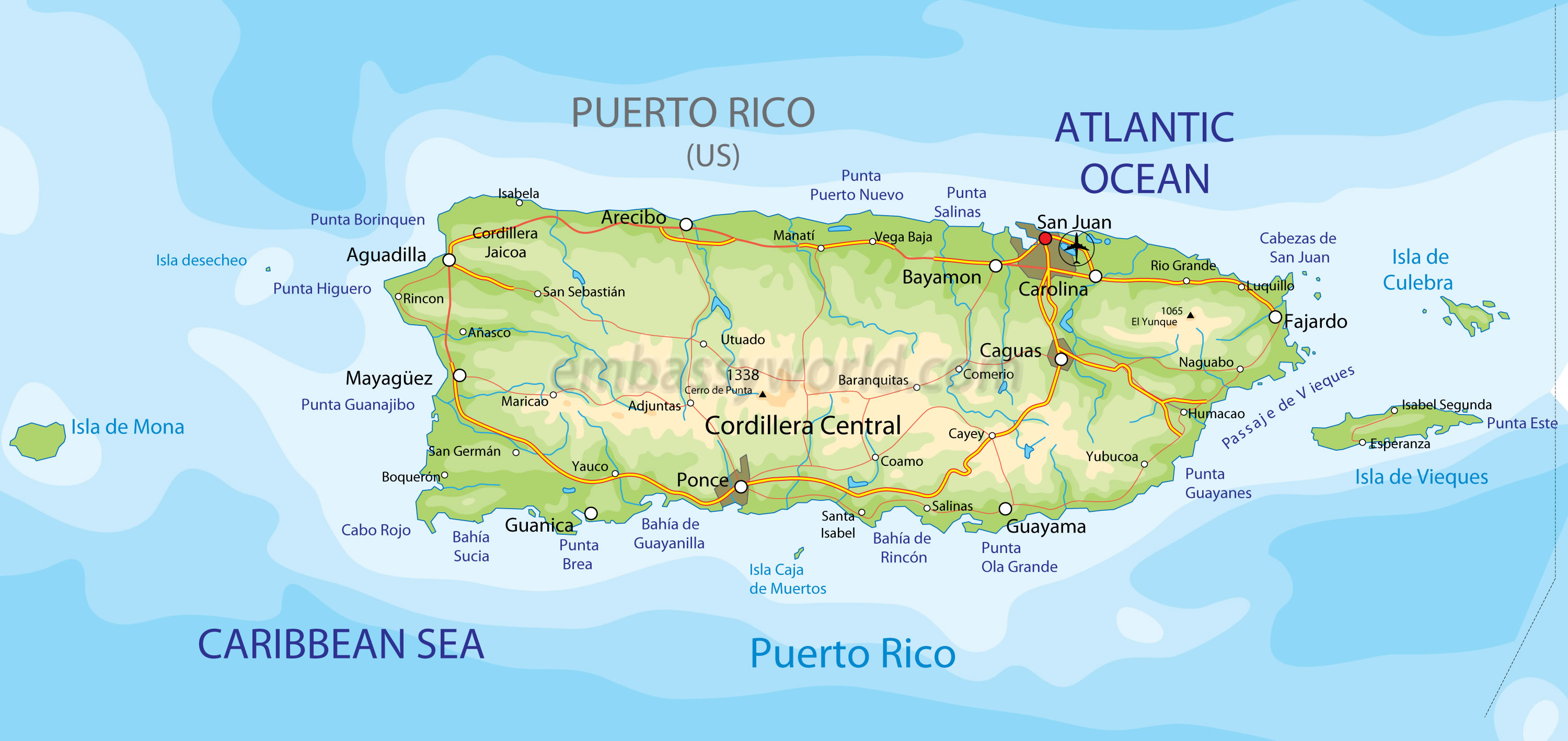 Puerto Rico Sufing Travel Packages
